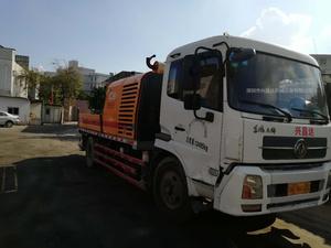 2012年5月三一重工車載泵9014,東風天錦底盤