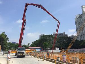 中鐵隧道集團三處深圳地鐵六號延長線深圳北站、紅山站