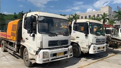 廣東深圳5台2009到2013年9014混凝土車載泵,三一和中聯都有