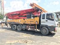 2010年三桥五节臂43米三一重工泵車,五十铃底盘