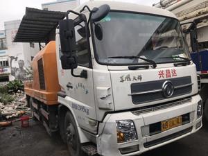 2014年中聯重科車載泵10014,東風天錦底盤