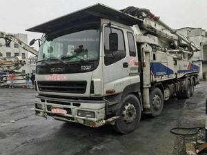 2011年6月48米四桥六节臂中聯重科泵車,五十铃底盘