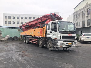 2014年2月56米C8龙象共舞六节臂三一重工泵車,五十铃底盘