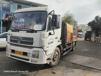 深圳2015年三一重工10020车载式混凝土泵,东风天锦底盘