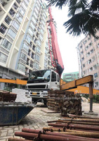 2013年56米三一重工泵車,龙象共舞C8系统,五十铃底盘