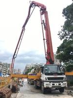 2009年5节臂43米X支腿三一重工泵車,五十铃底盘