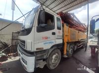 深圳2012年52米6节臂三一重工泵車,五十铃地盘