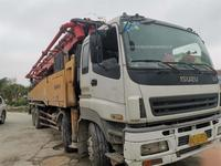 广东深圳2011年10月52米三一重工泵車,五十铃底盘